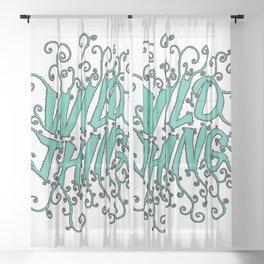 Wild thing Sheer Curtain