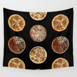 65 MCMLXV Pizza Polka Dot Pattern Wall Tapestry