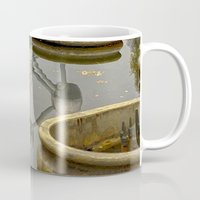 brussels Mugs featuring Atomium Brussels Painted Photography by Premium