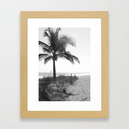 """Path to Ft. Lauderdale Beach"" Framed Art Print"