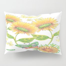 Butterfly Reunion Pillow Sham