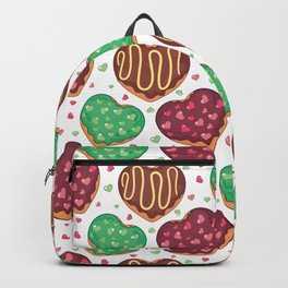 Heart doughnuts Backpack