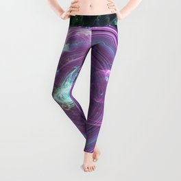 A Glimmer in the Eye of a Colorful Sky Leggings