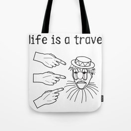 travesty Tote Bag
