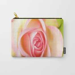Lovely delicate pink rose Carry-All Pouch