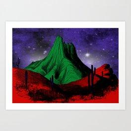 Painting in the Dark Art Print
