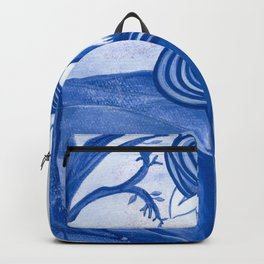 Astrology Zodiac Mermaid Virgo Watercolor Fantasy Art by Laurie Leigh Backpack
