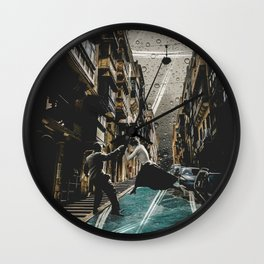 River Season Wall Clock