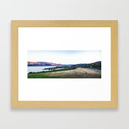 Winery in Kelowna Framed Art Print