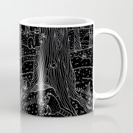Nocturnal Animals of the Forest Coffee Mug