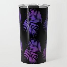 Palm Leaves Pattern #19 #Funky #decor #art #society6 Travel Mug