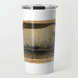 A Helium Filled Sheep Travel Mug