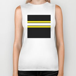 Team Colors 2..yellow Biker Tank