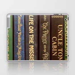 Old Books - Square Twain Laptop & iPad Skin