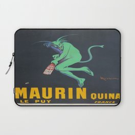Vintage poster - Maurin Quina Laptop Sleeve