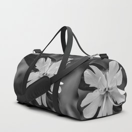 Black and white, white cockle Duffle Bag