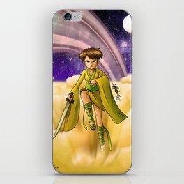 Saturn Princess (Revision) iPhone Skin