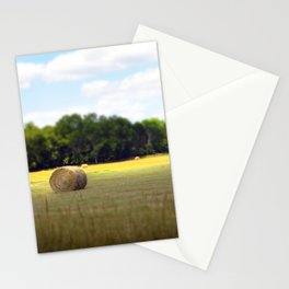 Happy Hayfield Stationery Cards