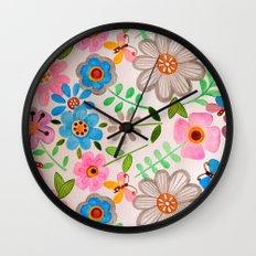The Garden 2 Wall Clock