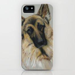 German shepard iPhone Case