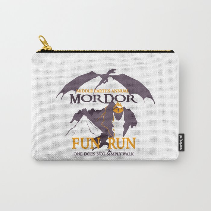 Fun Run, One does not simply walk. Carry-All Pouch