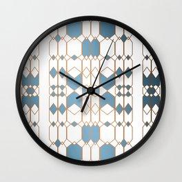 Patternbronze #1 Wall Clock