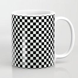 B&W CHECKER Coffee Mug