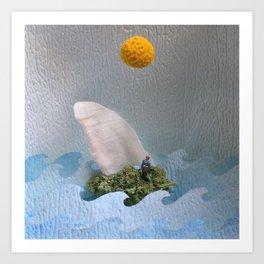 High-O-Rama Series: Tiny Boat Art Print