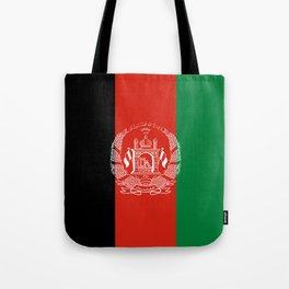 Flag: Afghanistan Tote Bag
