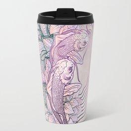 Koi Fish Mandala Travel Mug