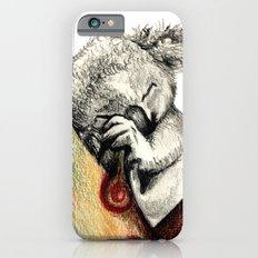 Koala sleeping Slim Case iPhone 6