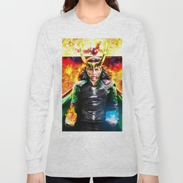 Loki - Ragnarok IV Eternal Flame Long Sleeve T-shirt