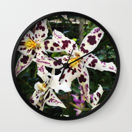 Odontoglossum Wall Clock