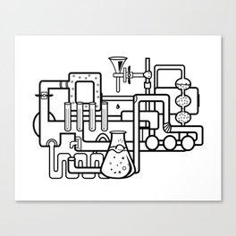lab Canvas Print