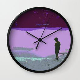 """A Diamond in Prospect Park"" Wall Clock"