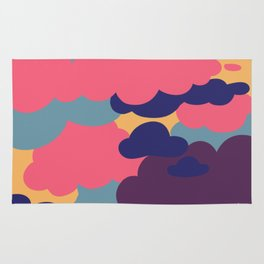 Sunset Clouds Rug