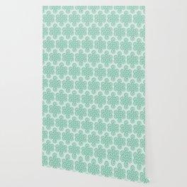 Green Celtic Knot I Wallpaper