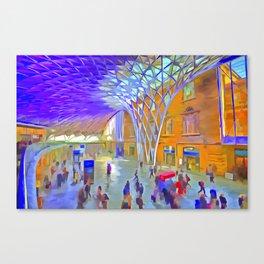 London Pop Art Canvas Print