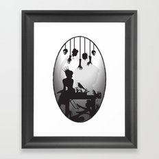 You're One Of Them, Aren't You? Dark Romance Valentine Framed Art Print