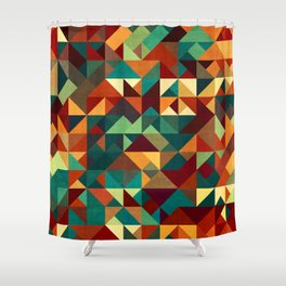Oh Retro 8 Shower Curtain