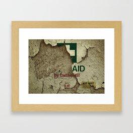 Last Aid Framed Art Print
