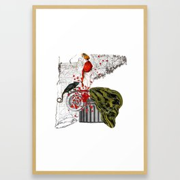 Scene Framed Art Print