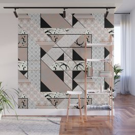 Patchwork pattern. Wall Mural