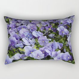 Pansy flower Rectangular Pillow