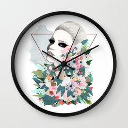 Flower Wall Wall Clock