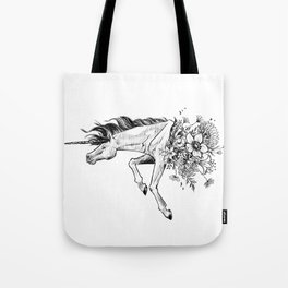Exploding Unicorn Tote Bag