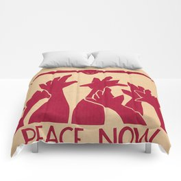 Peace Now Comforters