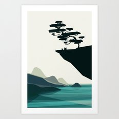 beauty trumped vertigo Art Print