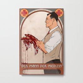 man of medicine Metal Print