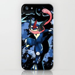 The Water Ninja iPhone Case